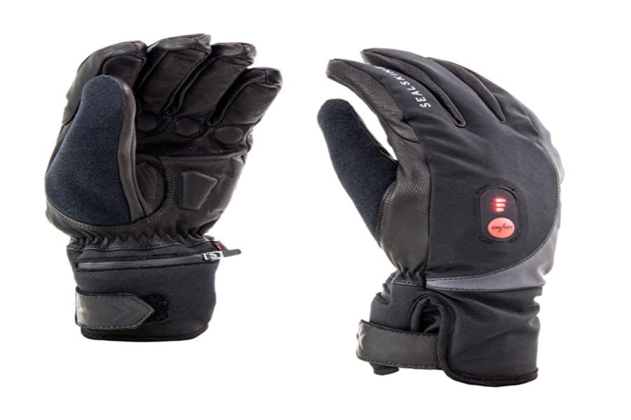 Sealskinz verwarmde handschoenen