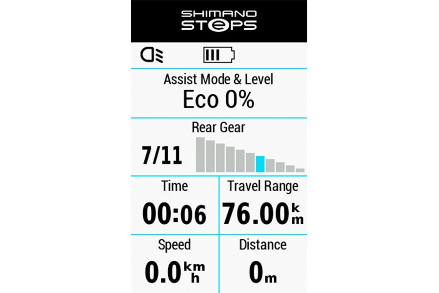 shimano steps garmin edge integratie