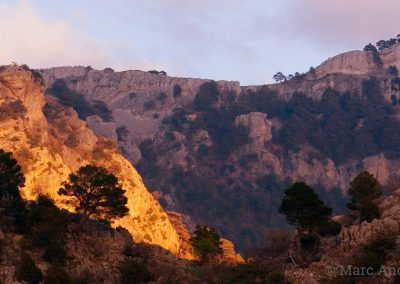 Mountains in Andalucia
