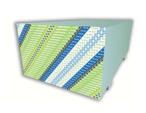 5/8 in x 4 ft x 8 ft USG Sheetrock Brand Mold Tough VHI Firecode X Panels