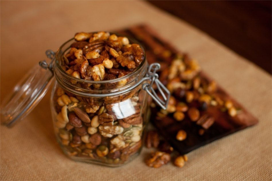 Cherry Planked Mixed Nuts