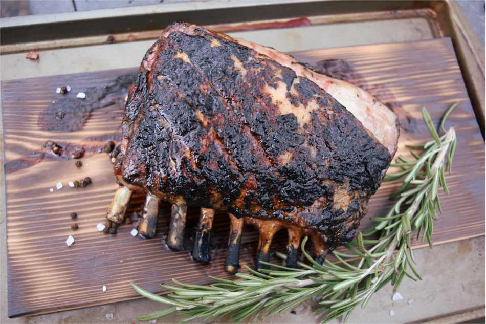 Hickory Smoked Rack of Lamb