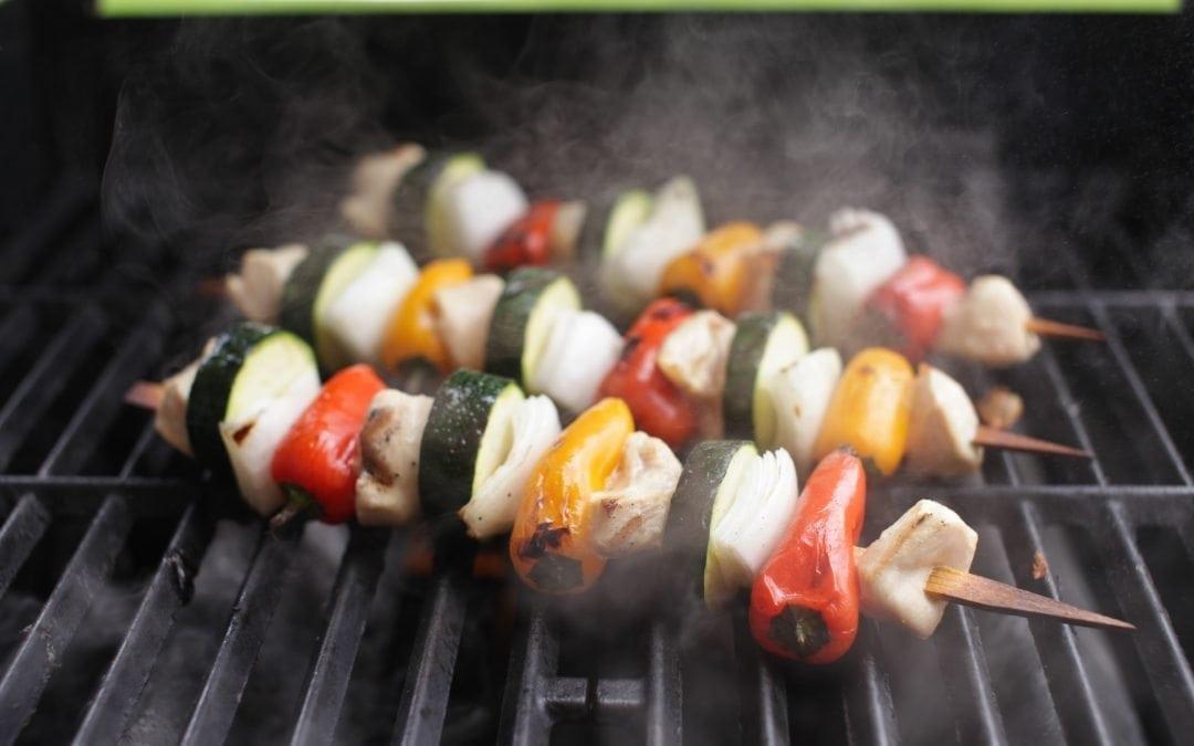 Chicken Kabobs on Cedar Skewers Recipe