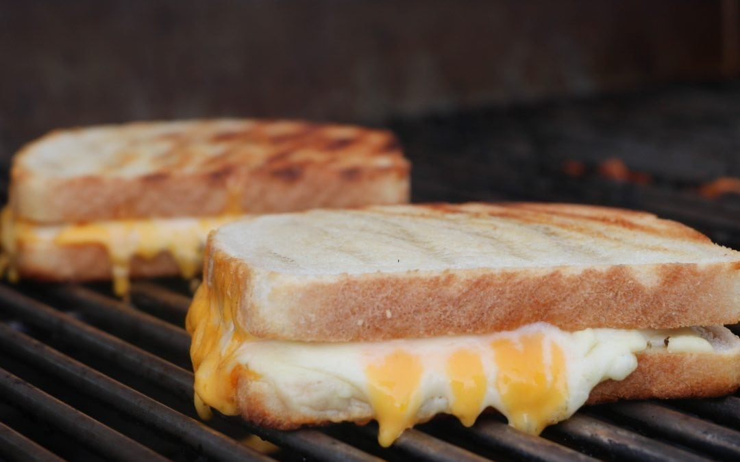 Smoked Grilled Cheese Sandwich Recipe