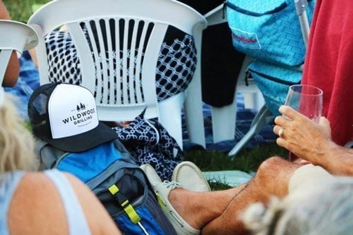 White Wildwood Grilling Hat