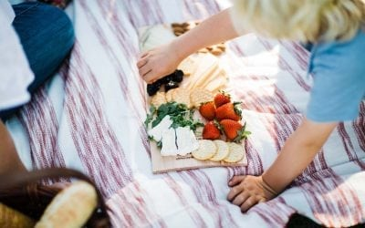 How to make the Perfect Picnic Platter on a Cedar Plank