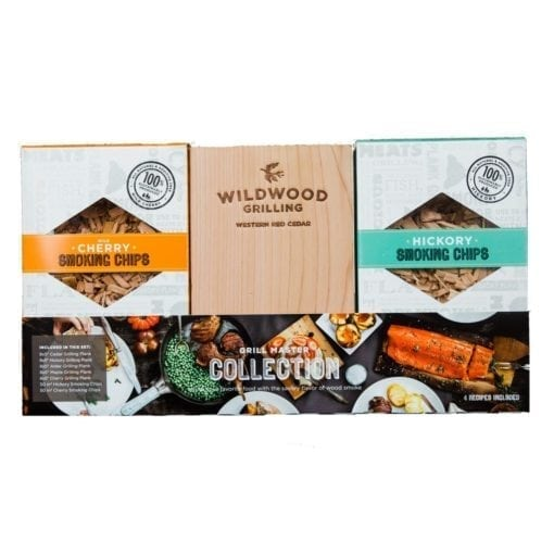 Grilling Gift Set: Planks & Smoking Chips