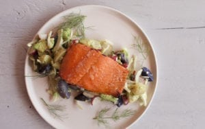 Sambuca Glazed Salmon
