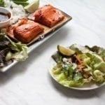 Cedar Planked Gochujang Salmon Lettuce Wraps