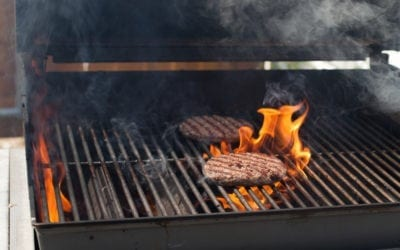How to Put Out a Grease Fire on a Grill