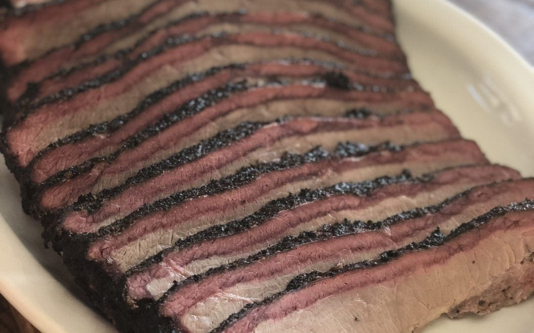 Cherry & Hickory Smoked Brisket Recipe