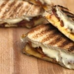 Cedar Planked Grilled Cheese Sandwich