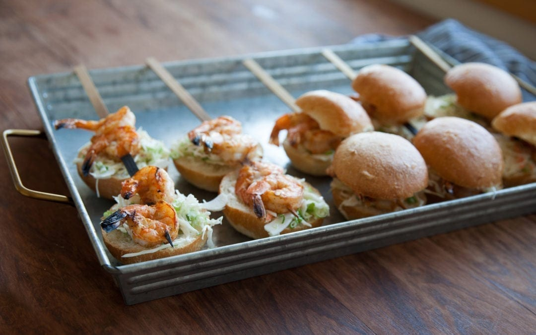 Shrimp and Slaw Sliders