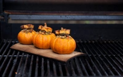 Stuffing Filled Miniature Pumpkins