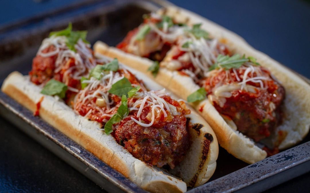 Red Oak Planked Meatball Sub