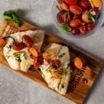 cedar planked red snapper fish grilling