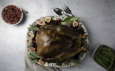 Our Best Pellet Smoked Turkey