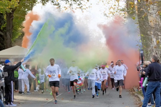 2017 Chester County 5K Color Run