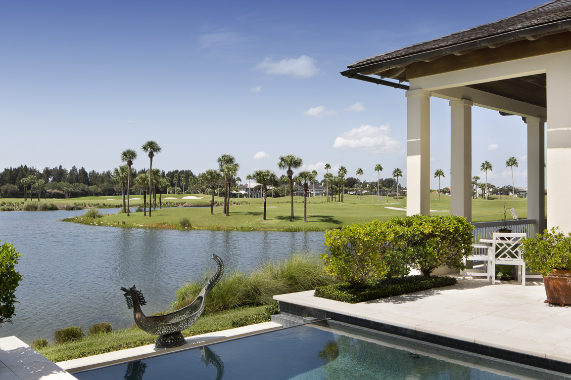 LAKE AND GOLF COURSE VIEW