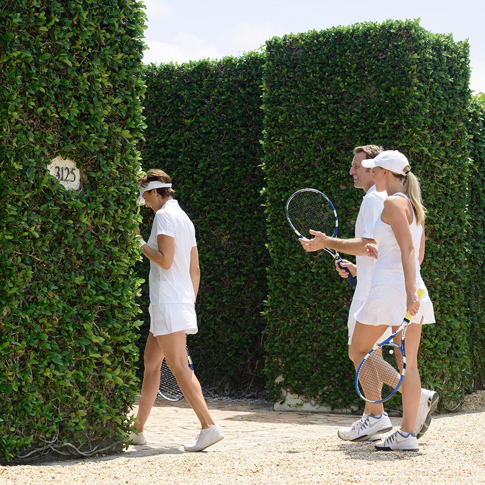 Windsor Florida Private Tennis Court, Vero Beach