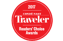 Condé Nast Traveler 2017 Reader's Choice