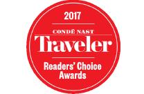 Condé Nast Traveler 2017 Reader's Choice