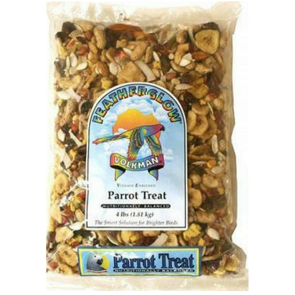 Volkman Featherglow Parrot Treat Mix 4 Lb (1.81 Kg)