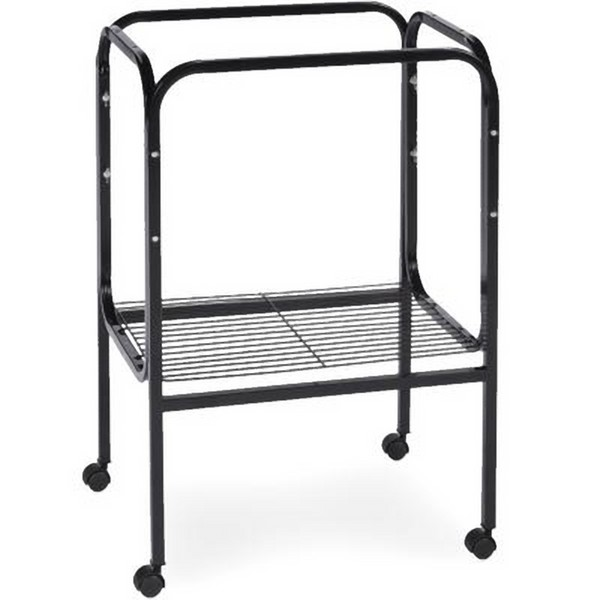 Bird Cage Stand W Shelf by Prevue 444 18X18 Black
