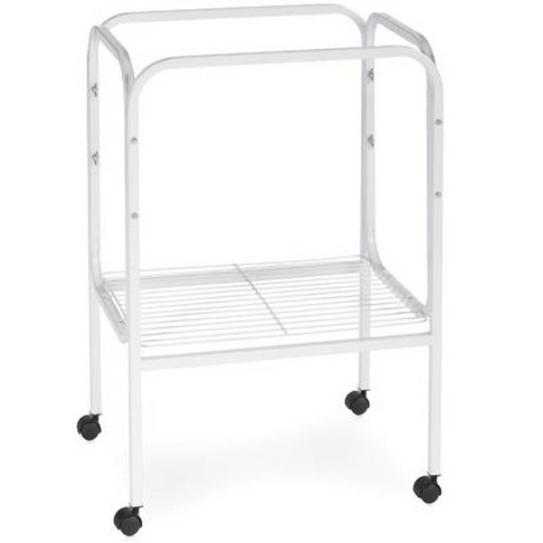 Bird Cage Stand W Shelf by Prevue 444 18X18 White