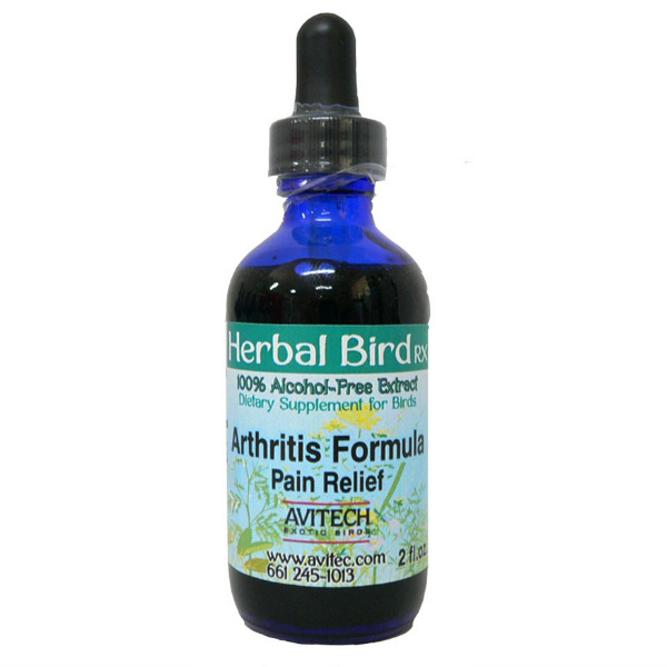 Avitech Extract Arthritis Formula and Pain Reliever for Birds 1 oz (29.56 ml)