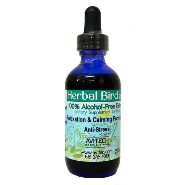 Avitech Extract Relaxation & Calming Formula for Birds 1 oz (29.56 ml)