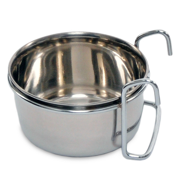 Coop Cup Stainless Steel Hook On Dish 10 oz