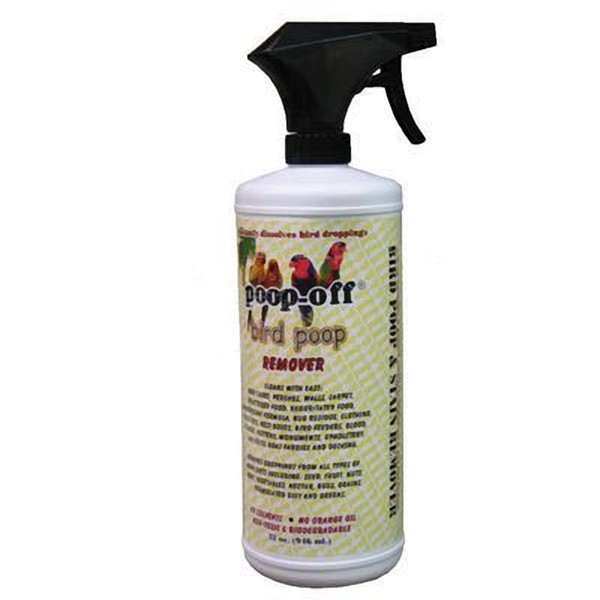 Poop Off Bird Poop Remover 32oz (.95 l) Spray Top