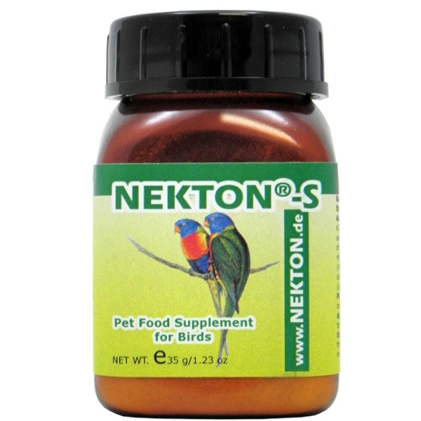 Nekton S Multi-vitamin Supplement For Cage Birds 35 grams (1.23 oz)