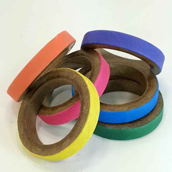 Birdie Bagels Small 2 in x 1/2 in Paper Chew Rings 6 pc