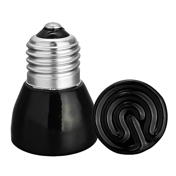 Infrared Heat Bulb for Warming Birds Without Light 25 Watt