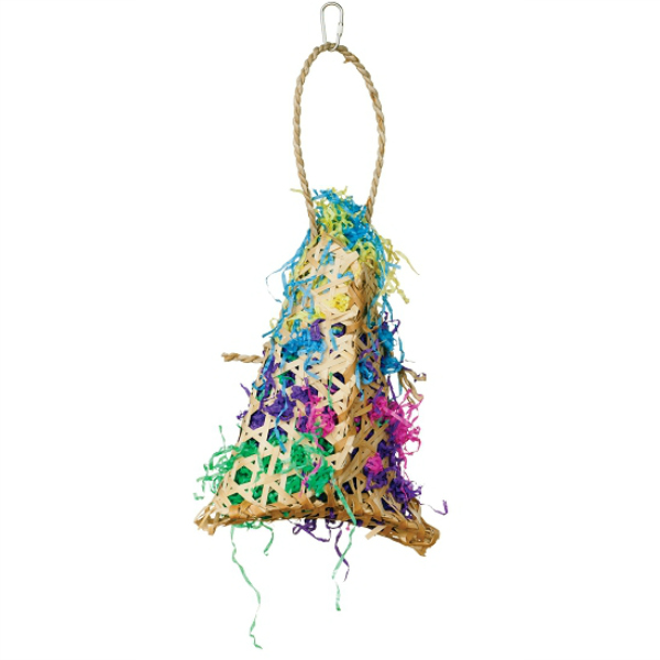 Calypso Preening Bird Toy by Prevue - Fiesta Handbag