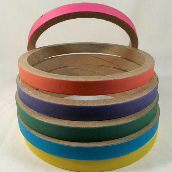 Birdie Bagels Large 8 in x 1 in Paper Chew Up Rings for Birds 1 pc