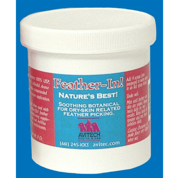 Avitech Feather-In Anti-Pick Treatment Powder 8 oz (226.8 g)