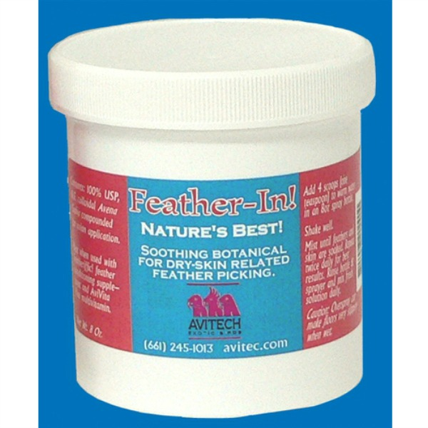 Avitech Feather-In Anti-Pick Treatment Powder 16 oz (.454 kg)