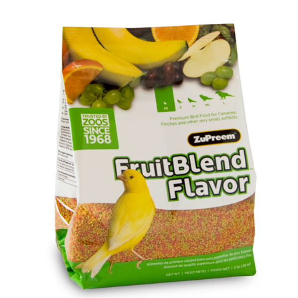 Zupreem Fruit Blend Canary Finch Avian Maintenance 2 lb (.907 kg)