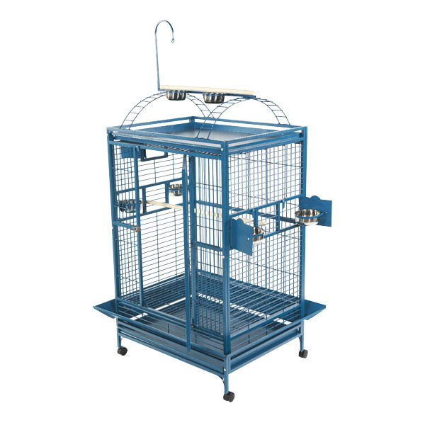 Play Top Bird Cage for Large Parrots by AE 8004836 Black