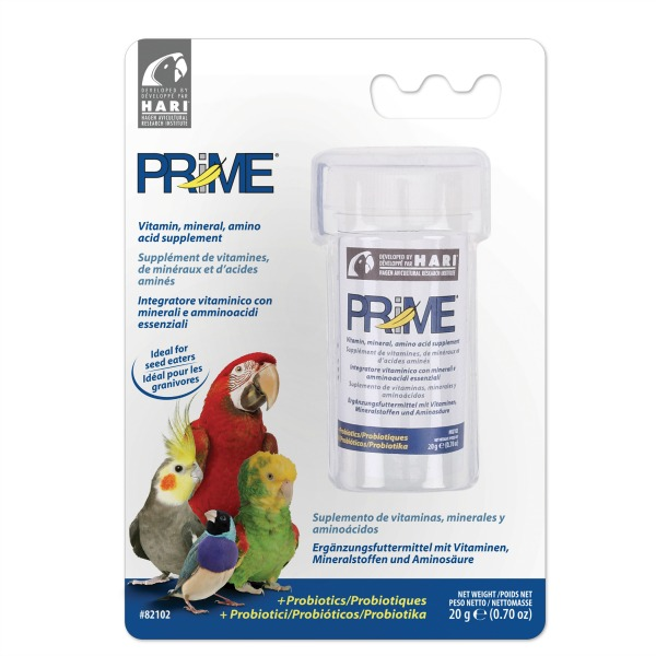 Prime Vitamin Water Soluble For Birds by Hagen Hari .70 oz (20 g)