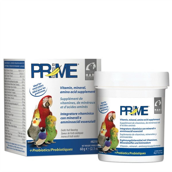 Prime Vitamin Water Soluble For Birds by Hagen Hari 2.1 oz (60 G)