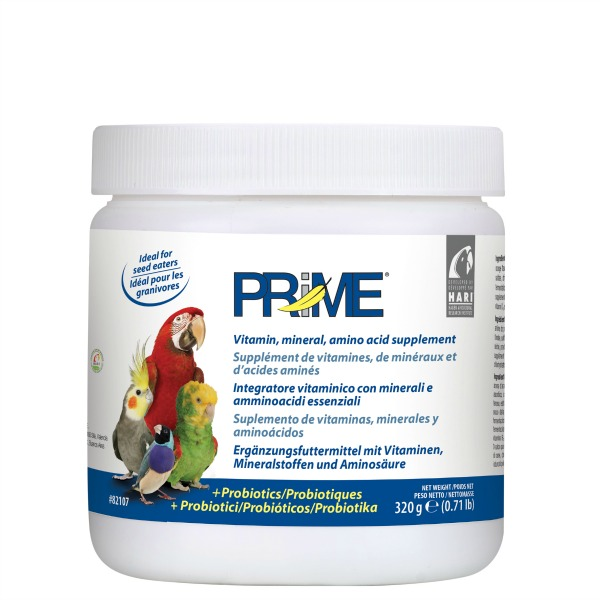Prime Vitamin Water Soluble For Birds by Hagen Hari .71 lb (320 g)