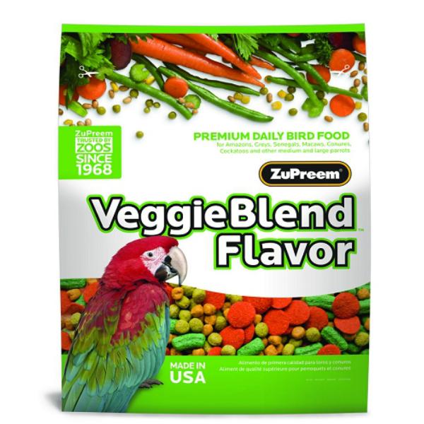Zupreem Veggieblend Parrot Bird Food Pellets 3.25 lb (1.47 Kg)