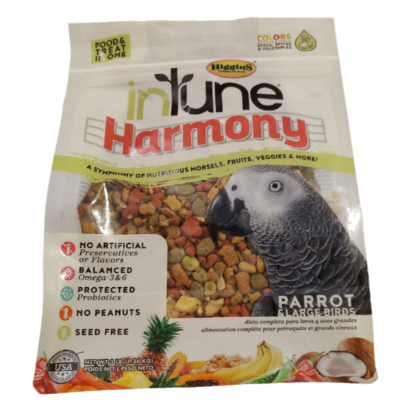 Higgins Intune Harmony Parrot 3 lb (1.361 kg)