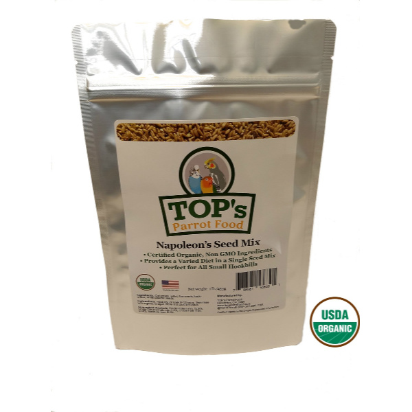 2 PACK TOPS Napoleons All in One Seed Mix 1 Lb