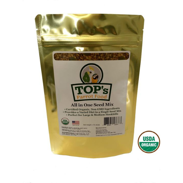 2 PACK TOPS Bird Seed All in One Seed Mix 1 lb
