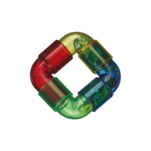 Rattler Ring Foot Toy by Super Bird Creations 1 pc
